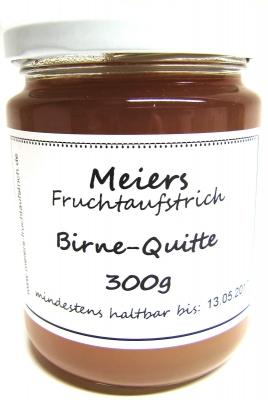 Fruchtaufstrich Birne-Quitte 300g