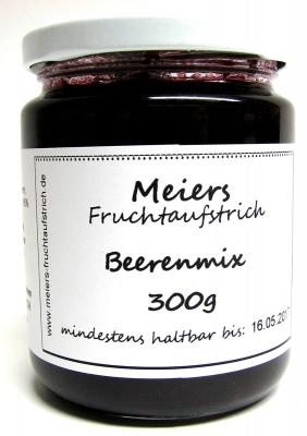 Fruchtaufstrich Beerenmix 300g