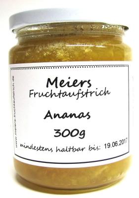 Fruchtaufstrich Ananas 300g
