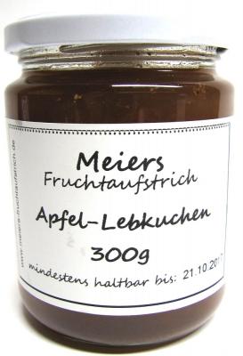 Fruchtaufstrich Apfel-Lebkuchen 300g