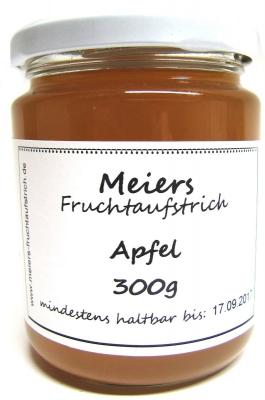 Fruchtaufstrich Apfel 300g