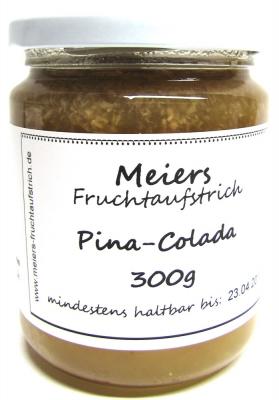 Fruchtaufstrich Pina Colada (Ananas-Kokos mit Rum und Batida de Coco) 300g*