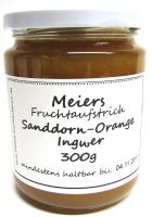 Fruchtaufstrich Sanddorn-Orange-Ingwer 300g