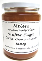 Fruchtaufstrich Sanfter Engel  Quitte-Orange 300g