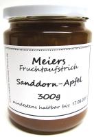 Fruchtaufstrich Sanddorn-Apfel 300g