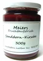 Fruchtaufstrich Sanddorn-Kirsche 300g