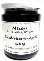 Fruchtaufstrich Fliederbeere-Apfel 300g