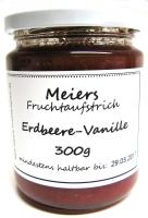 Fruchtaufstrich Erdbeere-Vanille 300g