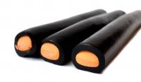 Lakritzstange gefüllt Orange