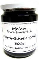 Fruchtaufstrich Cherry-Schoko-Chili 300g