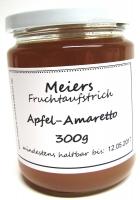 Fruchtaufstrich Apfel-Amaretto 300g*